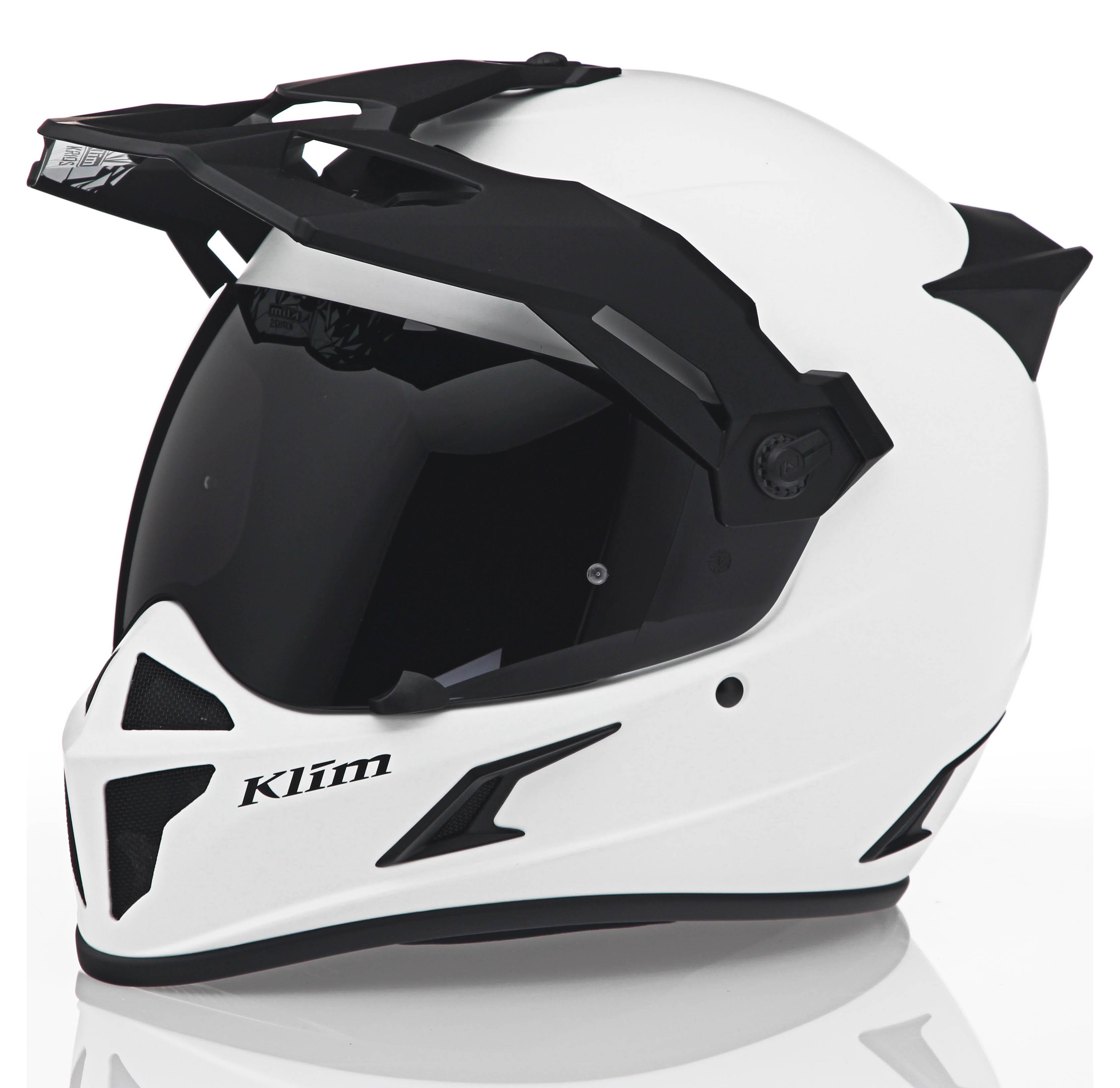 66fa0a223b97e Klim Krios Karbon Element Matte White Helmet