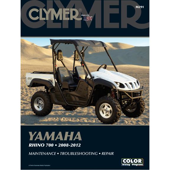 clymer m291 service shop repair manual yamaha rhino 700 2008 2012 rh ebay com Yamaha Rhino 700 Craigslist Yamaha Rhino 700 Vehicle