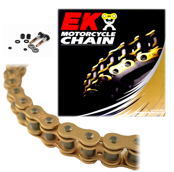 EK Motor Sport Screw Connecting Link for 520 SRX2 Series Chain Gold