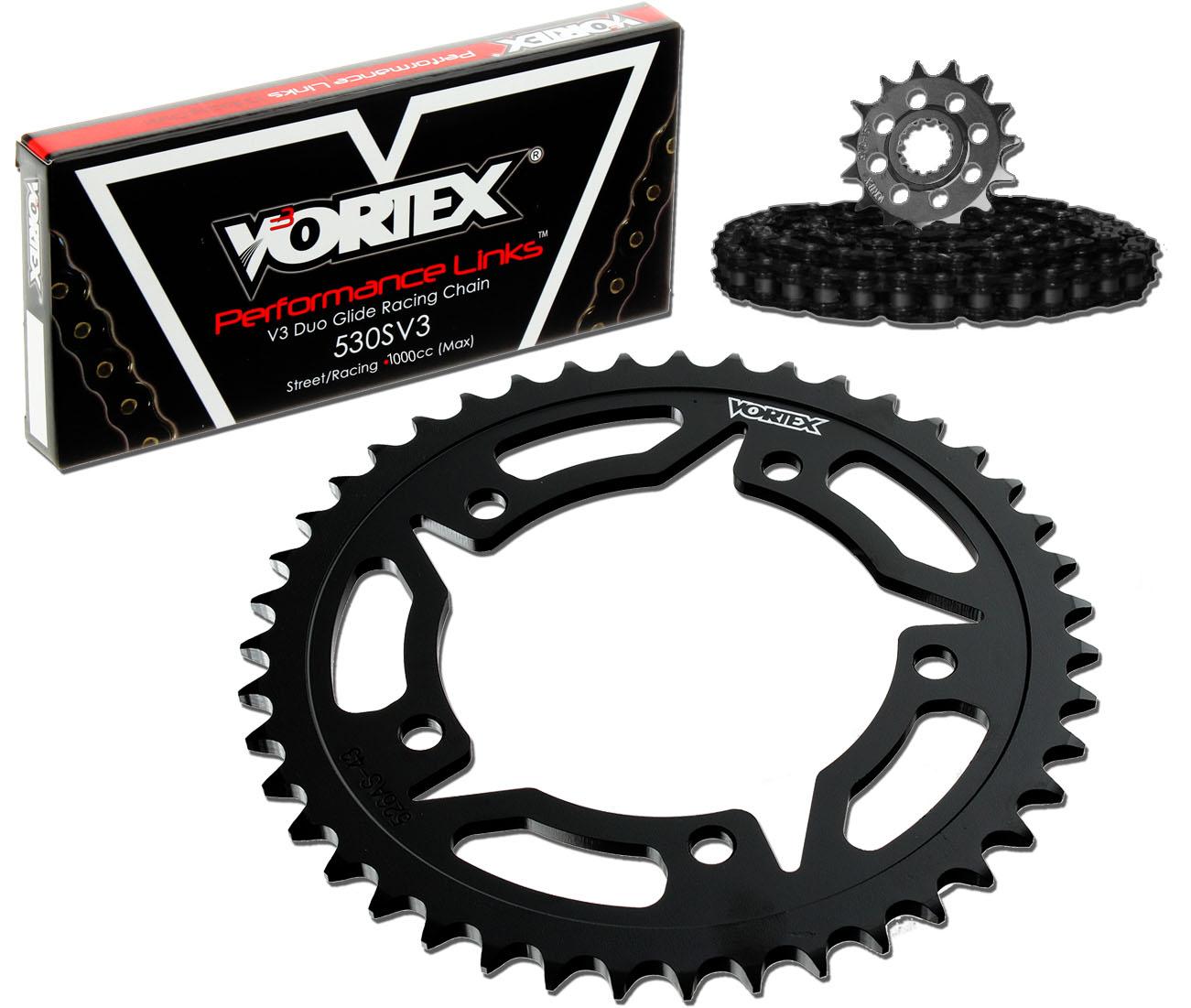 Vortex CK4134 Chain and Sprocket Kit Vortex Racing