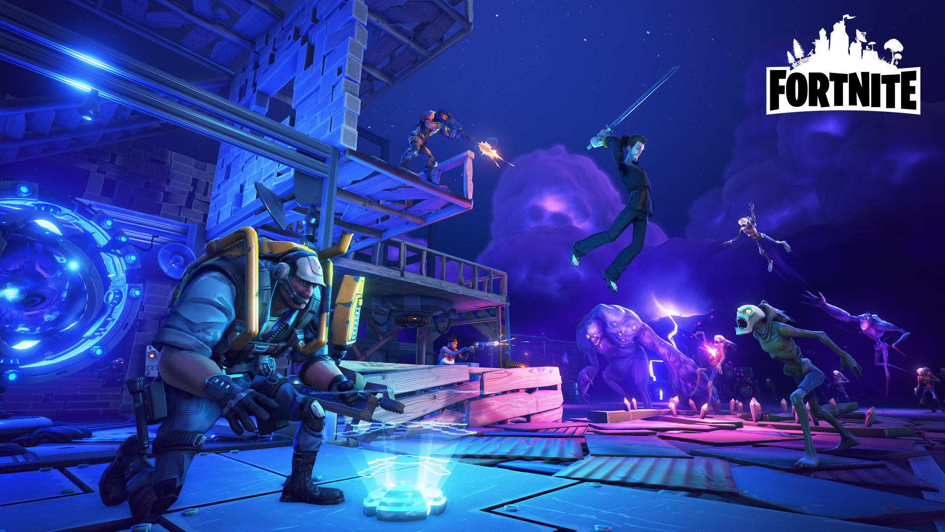 Fortnite Gaming Poster Print Wall Art A4 A3 A2 A1 A0 Xbox One Ps4