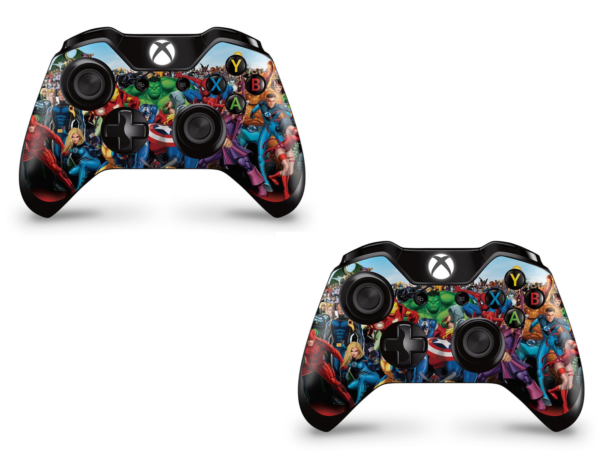 GNG 2 x Xbox One Controller Skins Full Wrap Vinyl Sticker ... Xbox One Skins Ebay