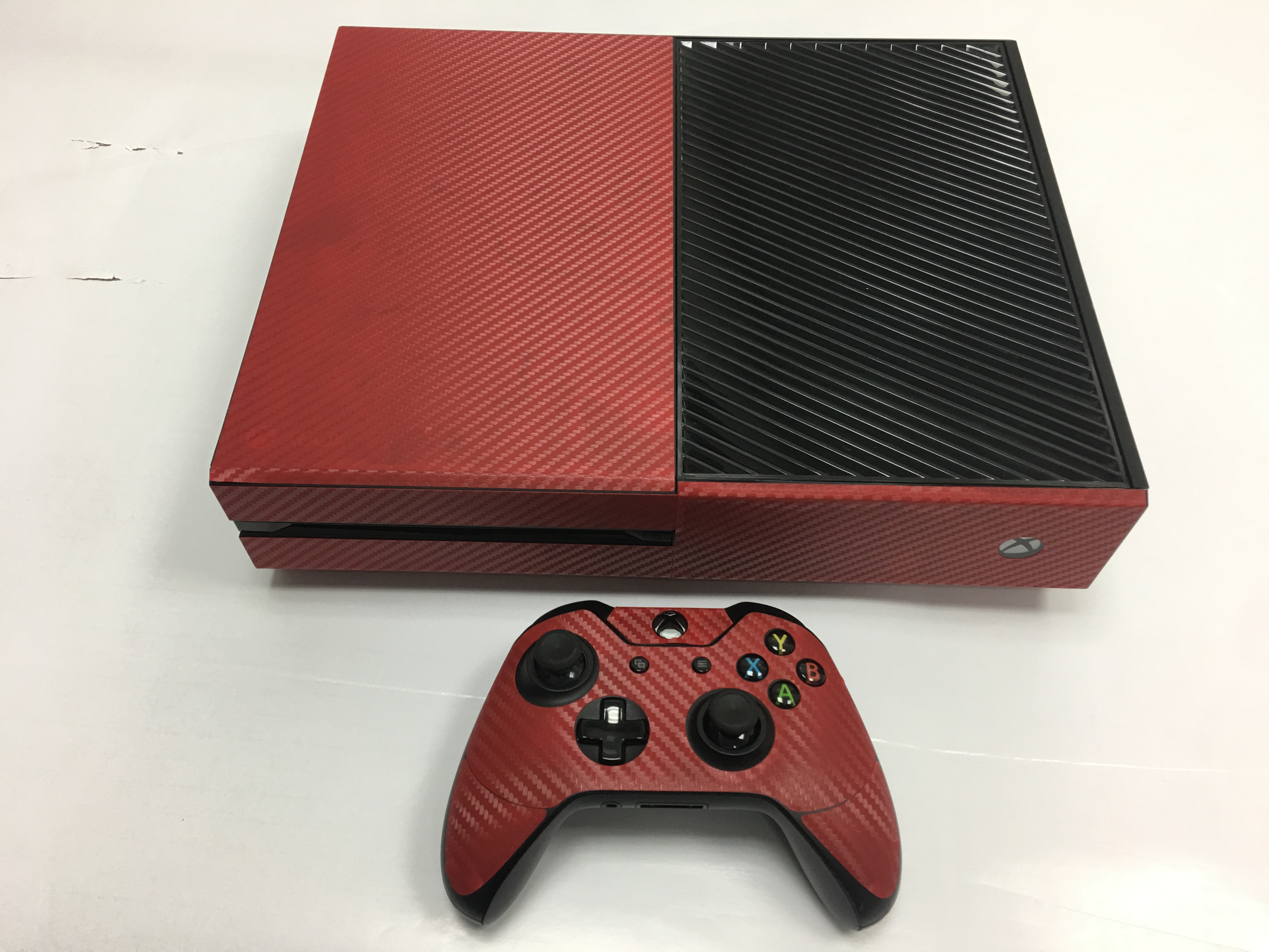 xbox one console 2 controllers kinect skin vinyl cover decal stickers ebay. Black Bedroom Furniture Sets. Home Design Ideas