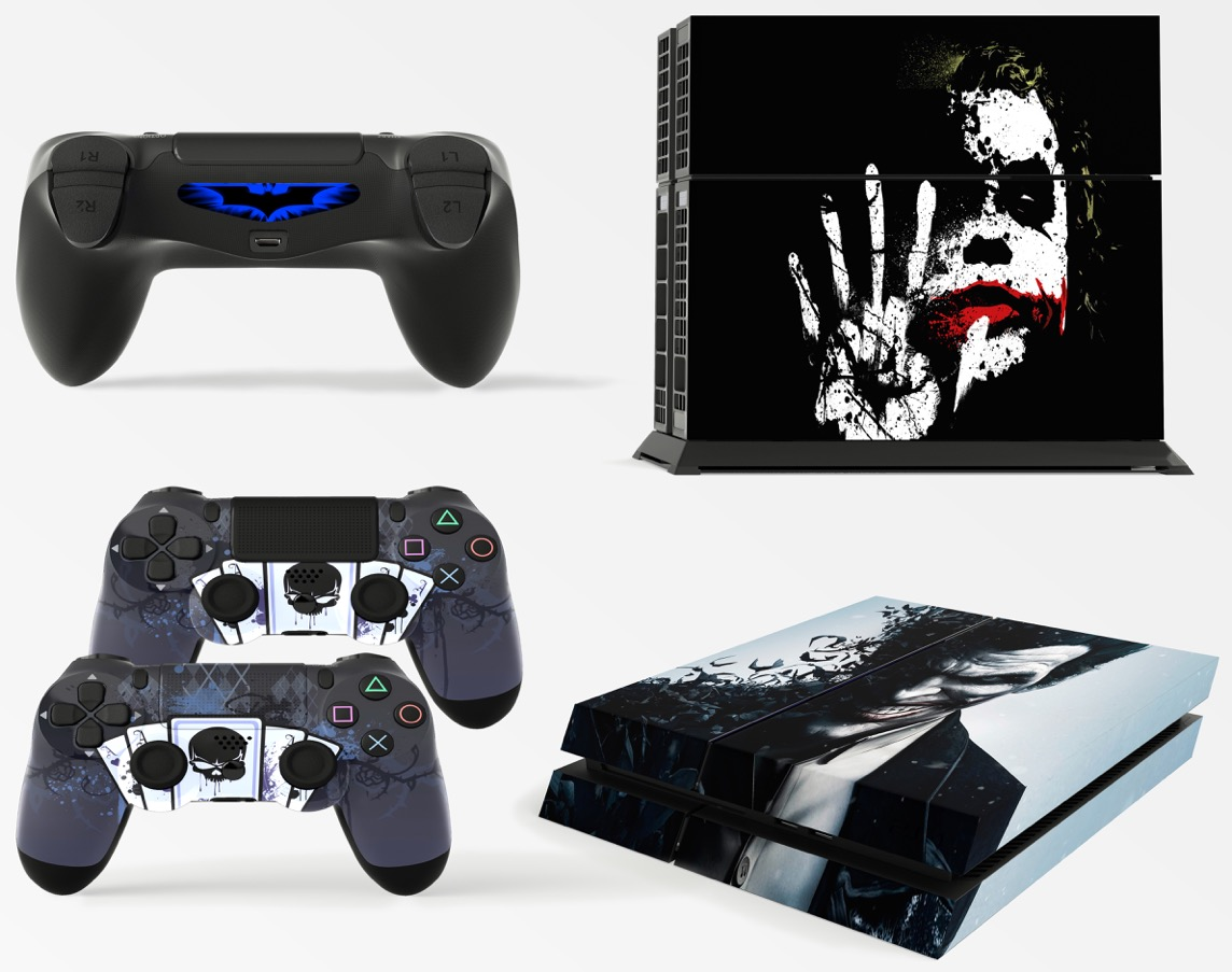 Gng Playstation 4 Console Skin Cover Decal Stickers 2