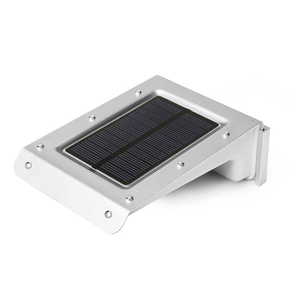 led bright solar light with motion detection sensor garden flood light. Black Bedroom Furniture Sets. Home Design Ideas