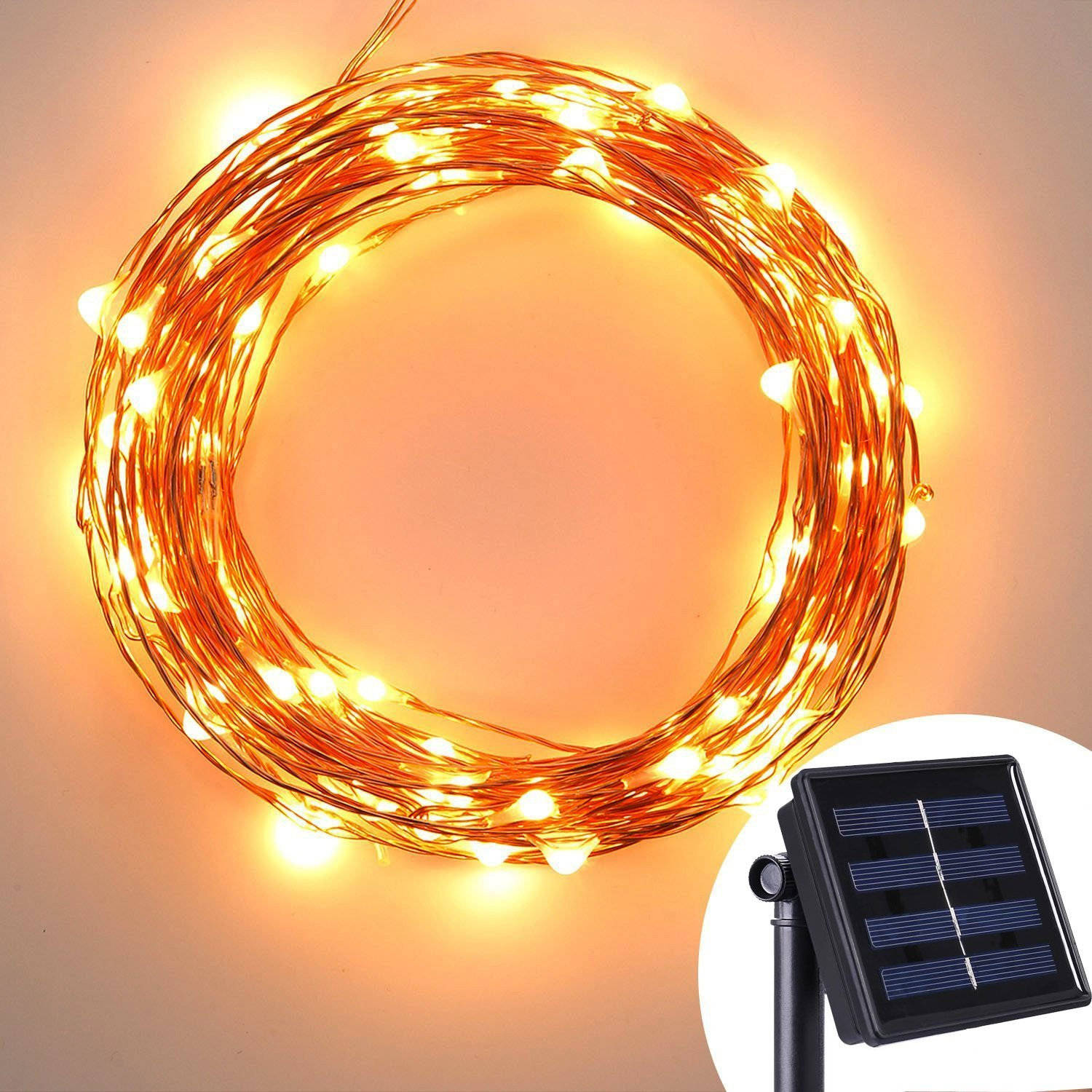 120LED 20ft Warm White Color Bendable Micro Copper Wire String Fairy Light UK eBay