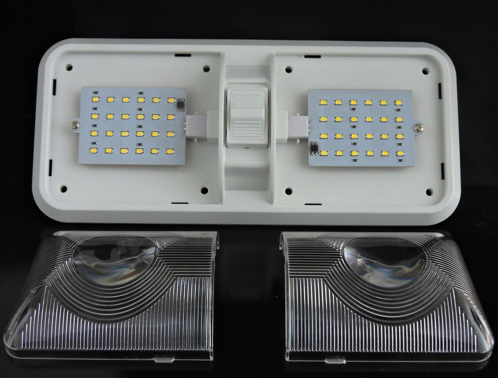 Do Led Ceiling Lights Need Transformers : Kohree rv interior led ceiling light boat camper
