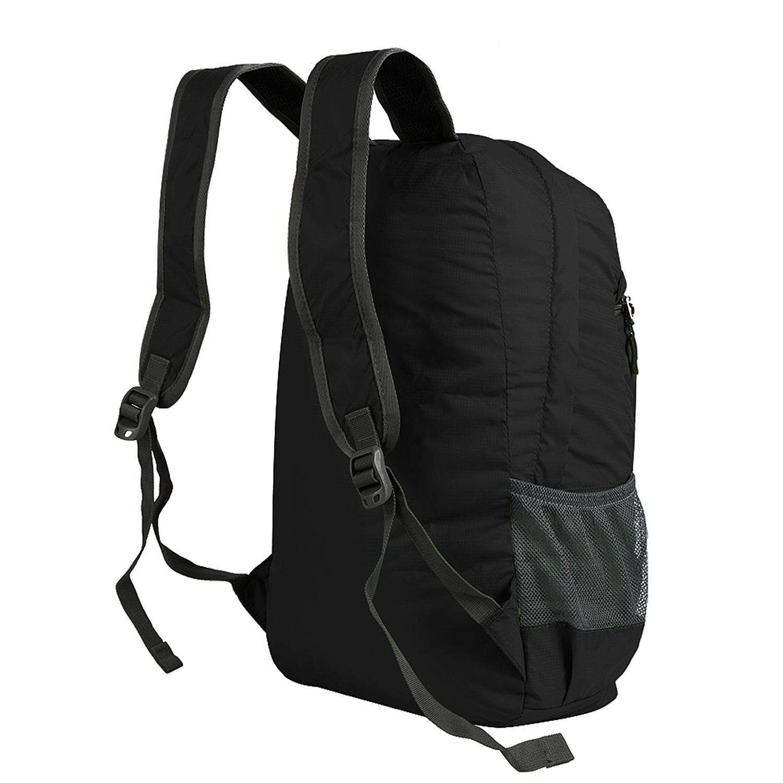 Hiking Bag Rucksack Lightweight Foldable Waterproof Nylon Backpack Camping BagLM