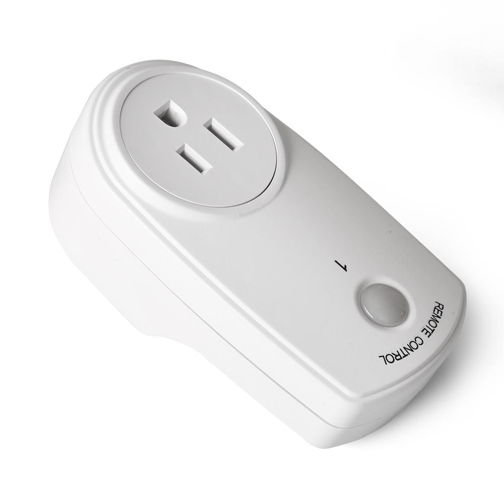 5x wireless remote control outlet power light plug switch socket 2 remote ebay. Black Bedroom Furniture Sets. Home Design Ideas