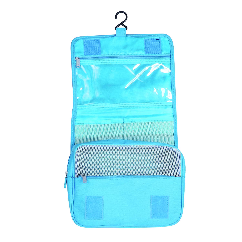 travel hanging wash toiletry cosmetic makeup case storage. Black Bedroom Furniture Sets. Home Design Ideas