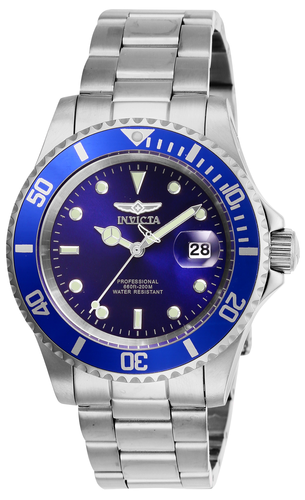 Blue - Stainless Steel