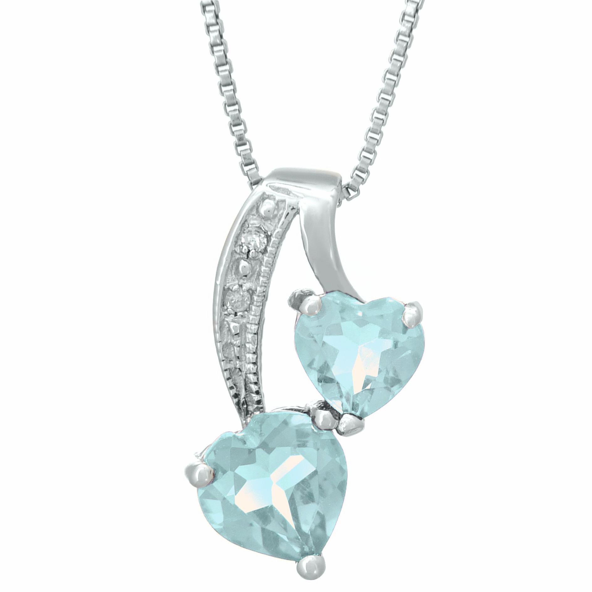90 ct sky blue aquamarine sterling silver