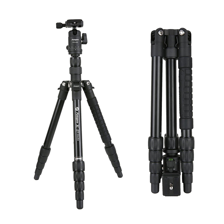 Fotopro X-Go Chameleon Black Tripod Kit