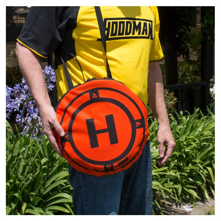 3/' Diameter Hoodman Drone Launch Pad