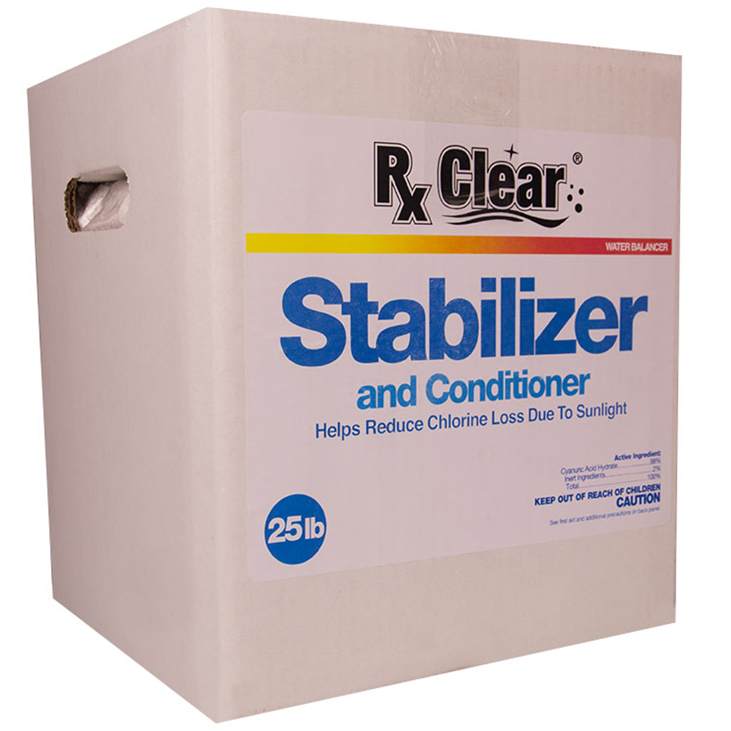 Rx Clear Conditioner Amp Stabilizer Cyanuric Acid For