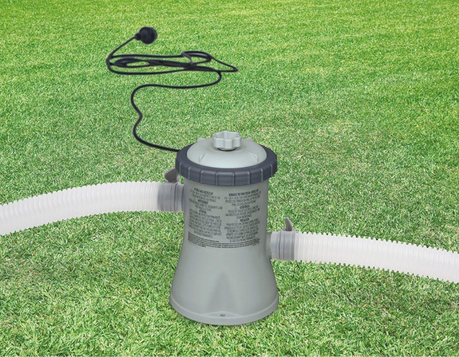 Intex 330 gph easy set 28601eg swimming pool cartridge - Swimming pool cartridge filters pump ...