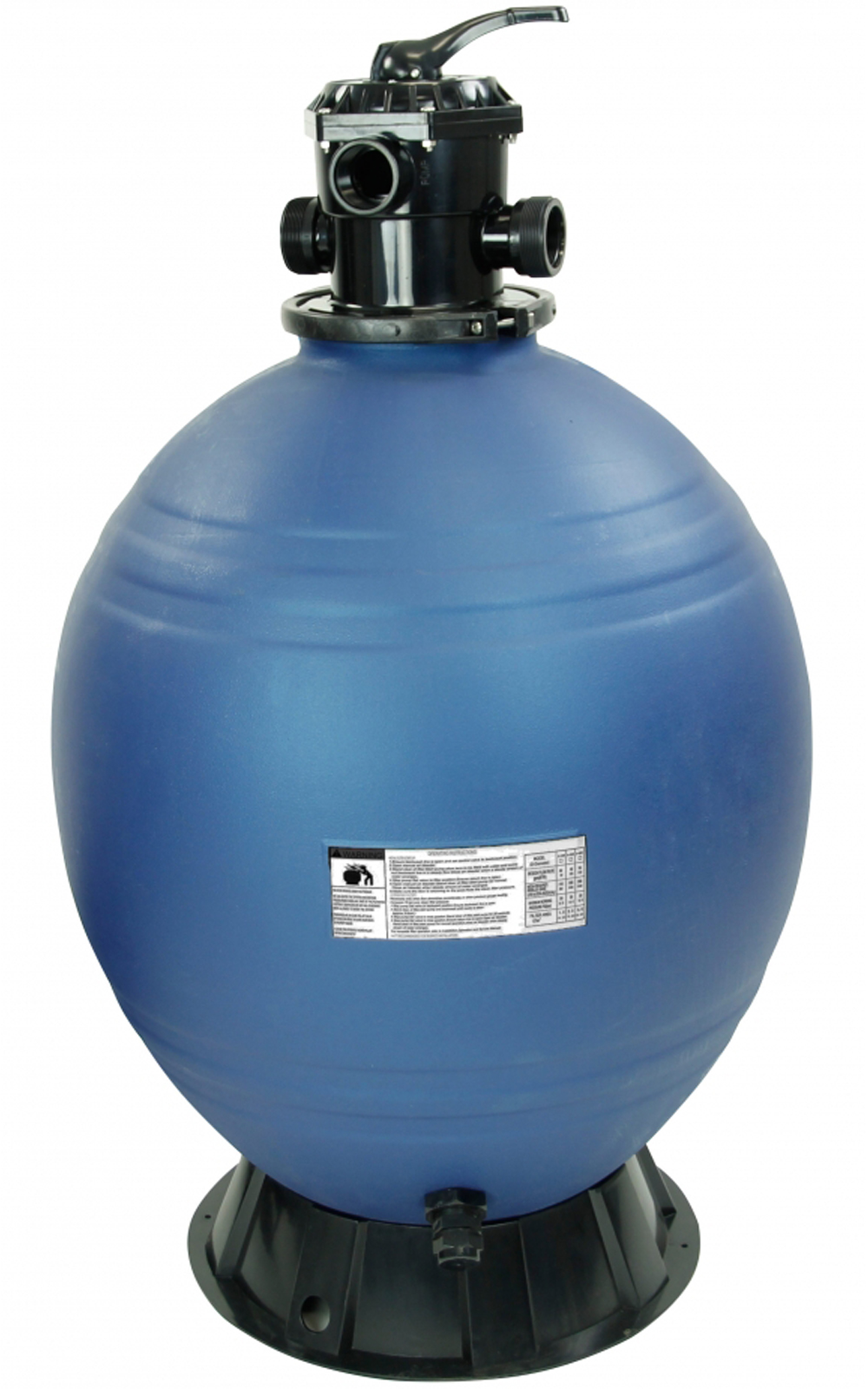 rx clear 26 inch in ground swimming pool sand filter w top. Black Bedroom Furniture Sets. Home Design Ideas