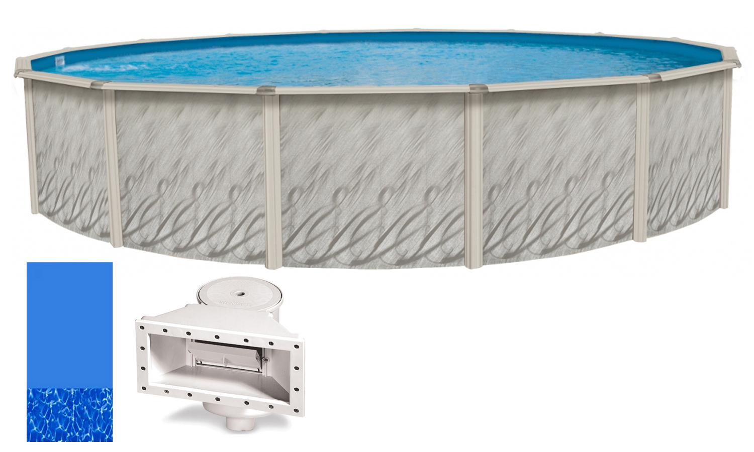 above ground swimming pool liners 18 39 x52 ft round meadows above ground swimming pool w