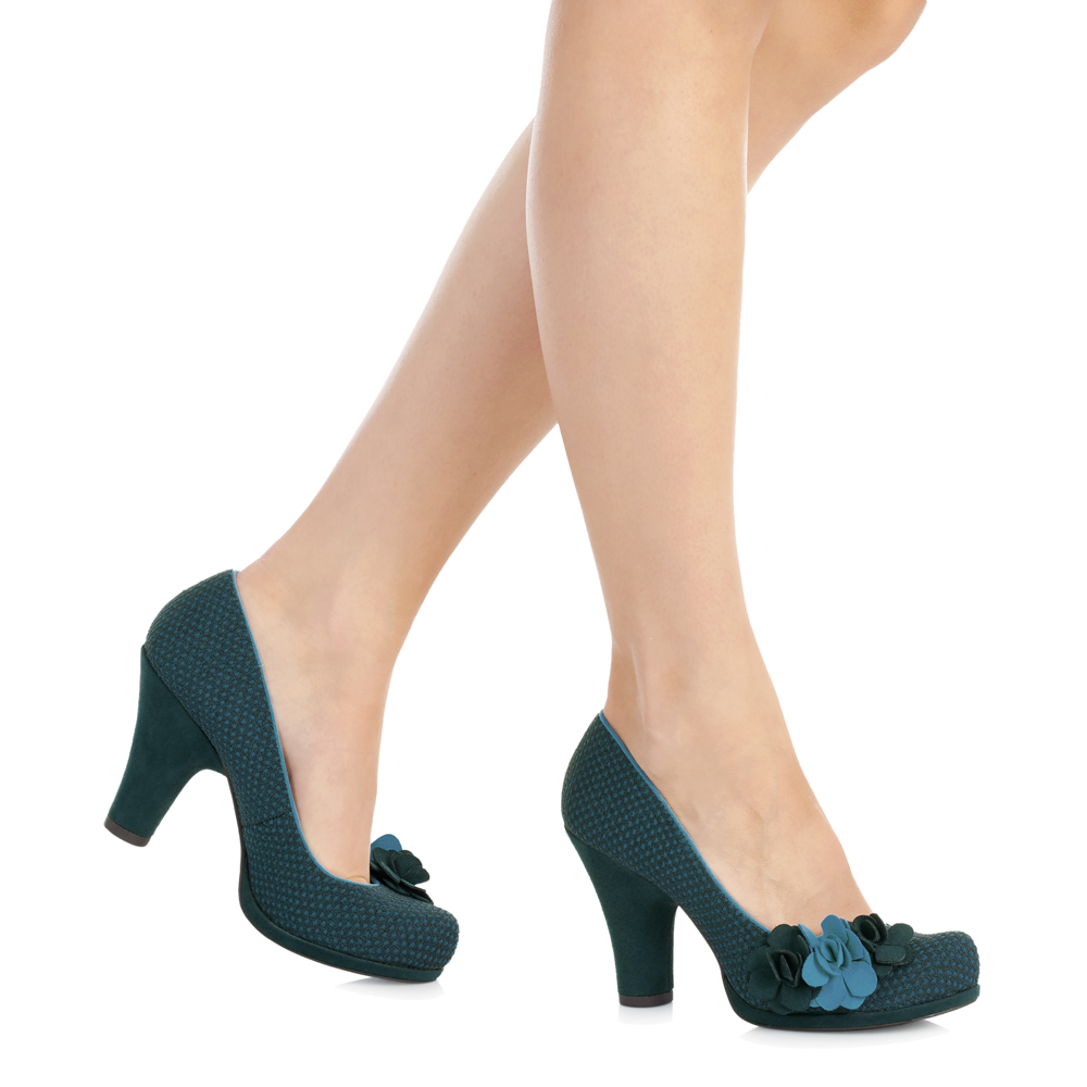 Nouveau Ruby Shoo Eva Cour Chaussures Noir Bleu Marine Marine Marine Sable Rouge Noir Essence bleu ciel UK3-9 c5b228