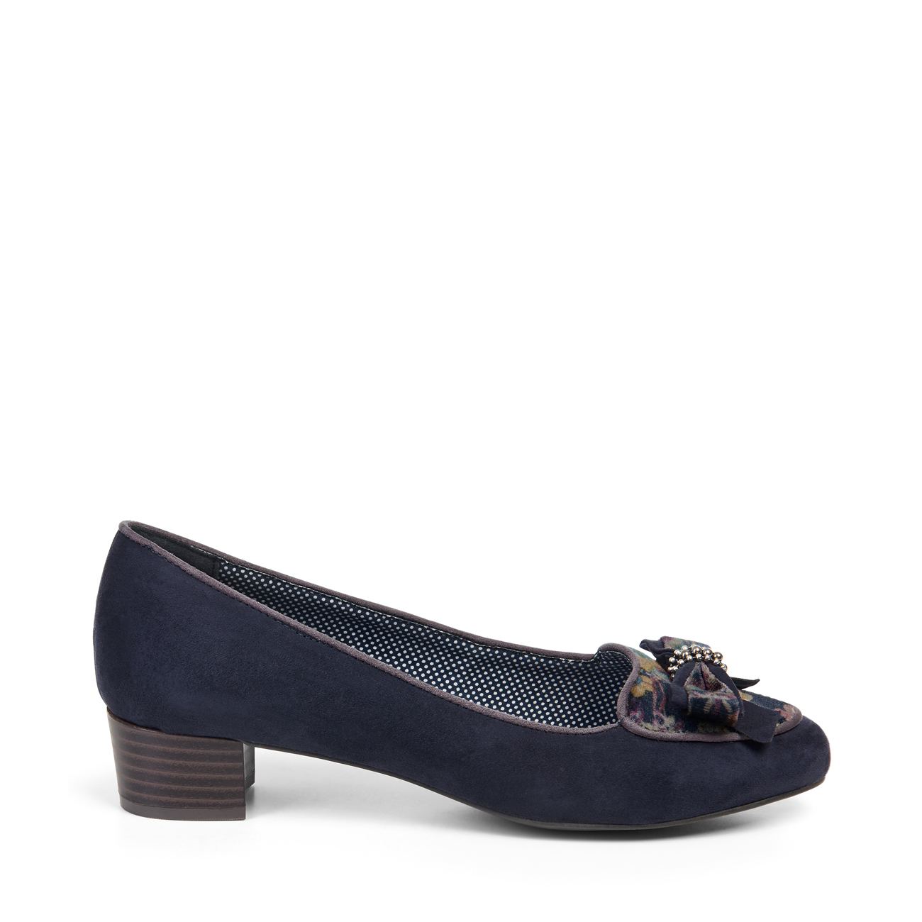 Rieker 53783-14 Navy Leather Leather Navy Slip on Shoes 7b1e2f