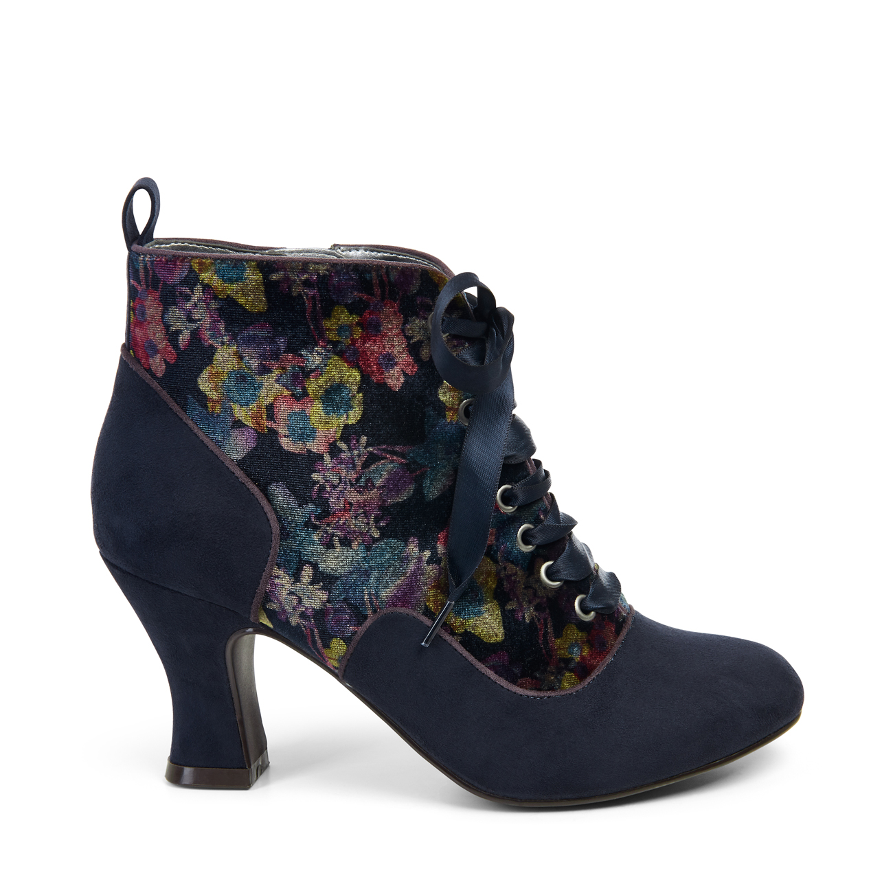 Ruby Shoo Bailey Ankle Stiefel Mink UK3-9 Luxurious Navy / Mink Stiefel Floral 50c860