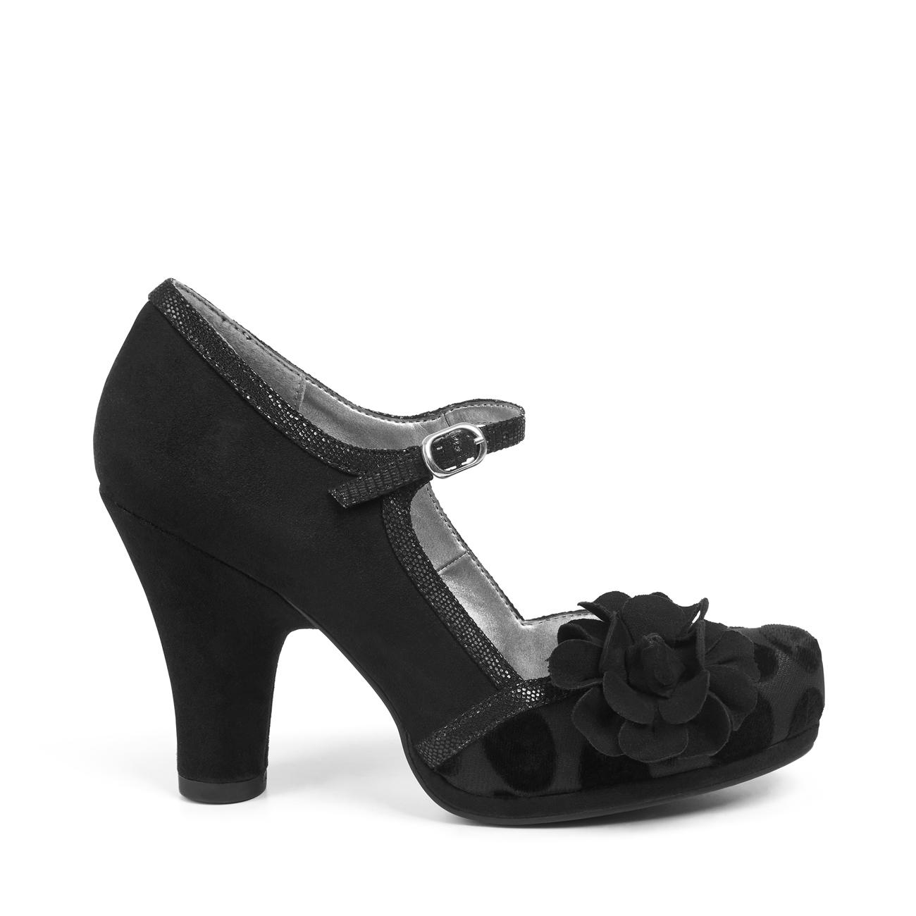 Spot Ruby Black Matching 3 9 Tortola amp; Shoo Bar Navy Hannah Shoes Uk Bag Olive r7qwr6T