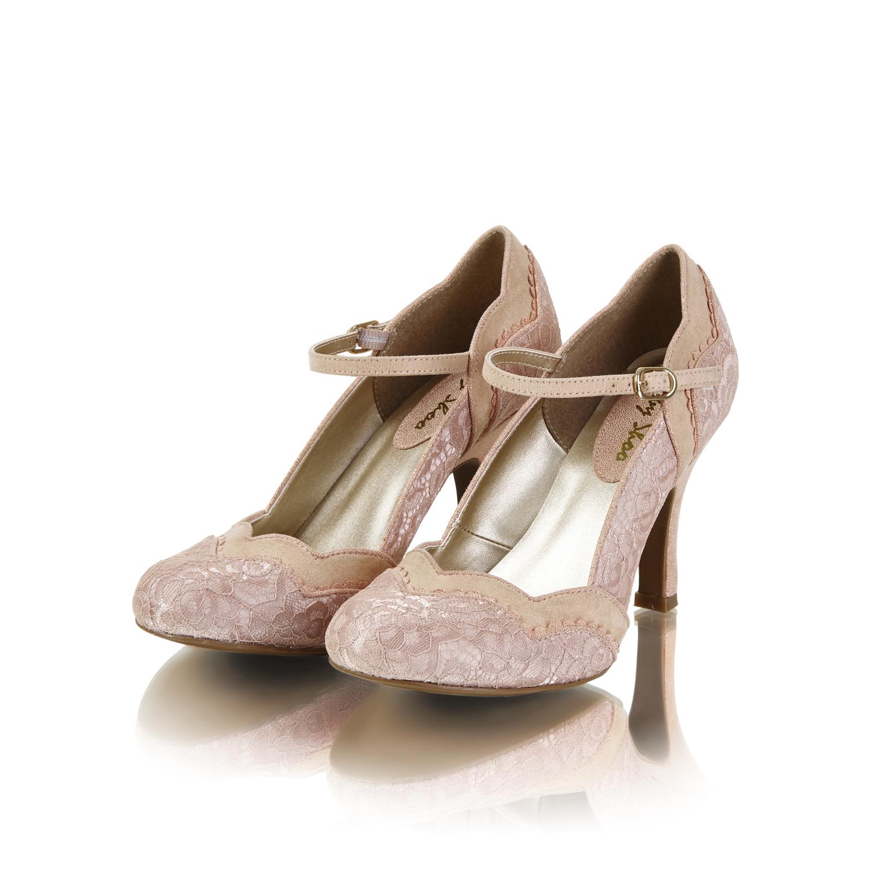 0b94d6e40fe Ruby Shoo Imogen Mary Jane Shoes UK 3- 9 Blue Plum Black Silver Gold ...
