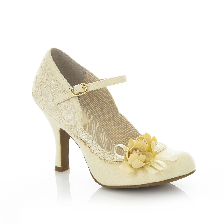 Ruby Shoo Silvia Mary Jane Schuhes Lemon UK 3 9 Fuchsia Lemon Schuhes Lace Navy 1d6ad5