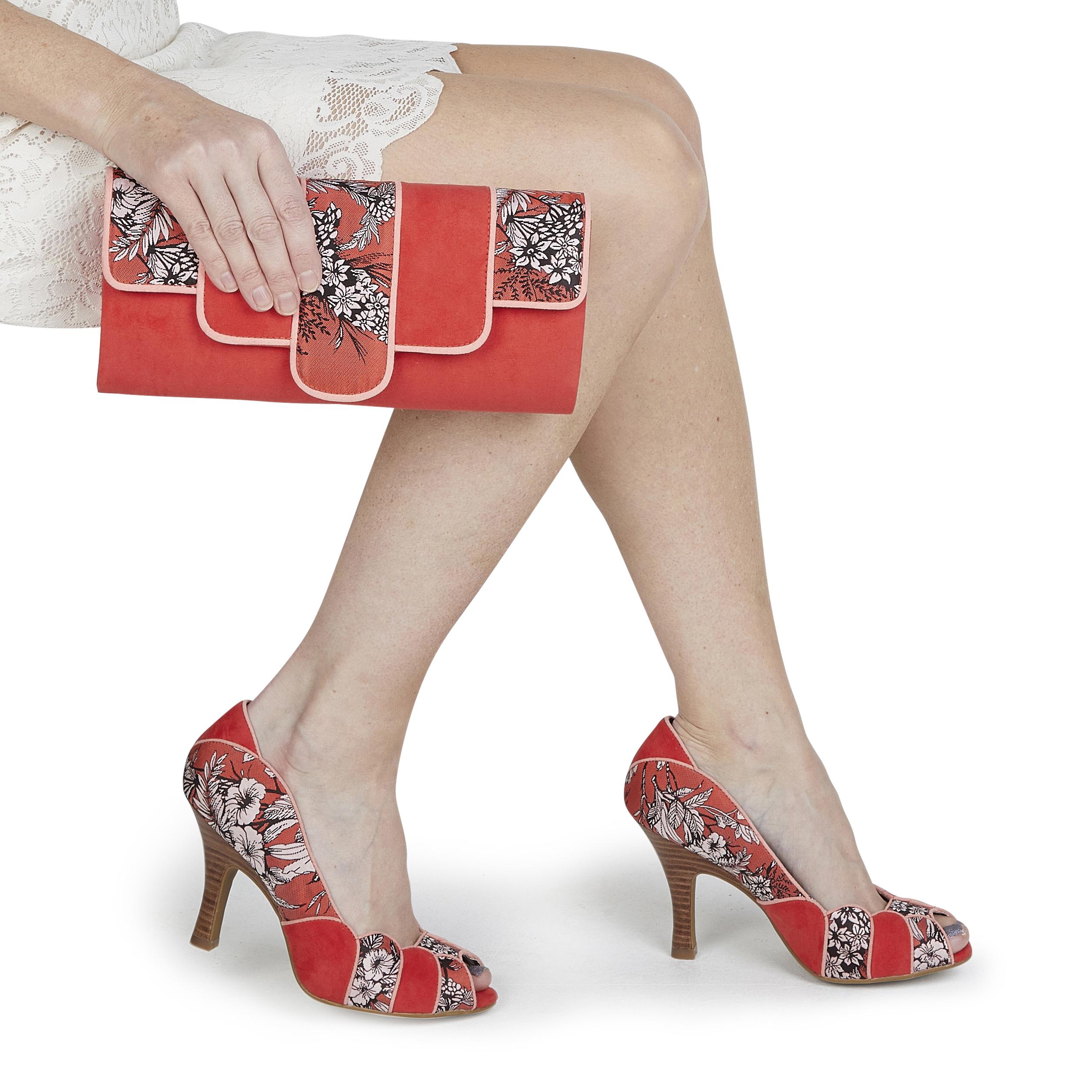 aa5c0f416b1b6 Ruby Shoo Canberra Art Deco Clutch Bag Chain Strap Matches Matilda ...