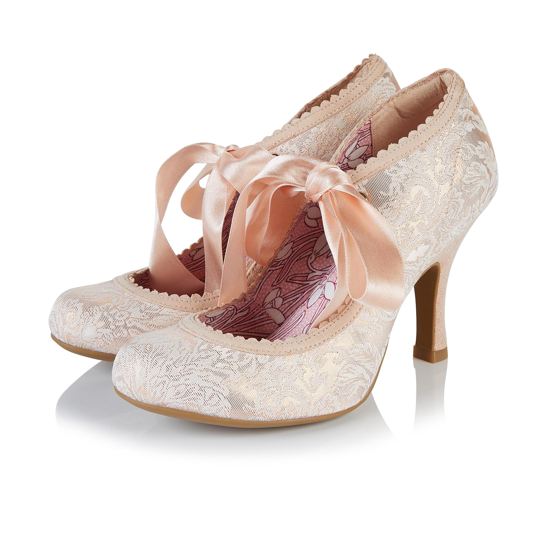 Ruby Shoo Willow Rose Gold Womens Hi Heels