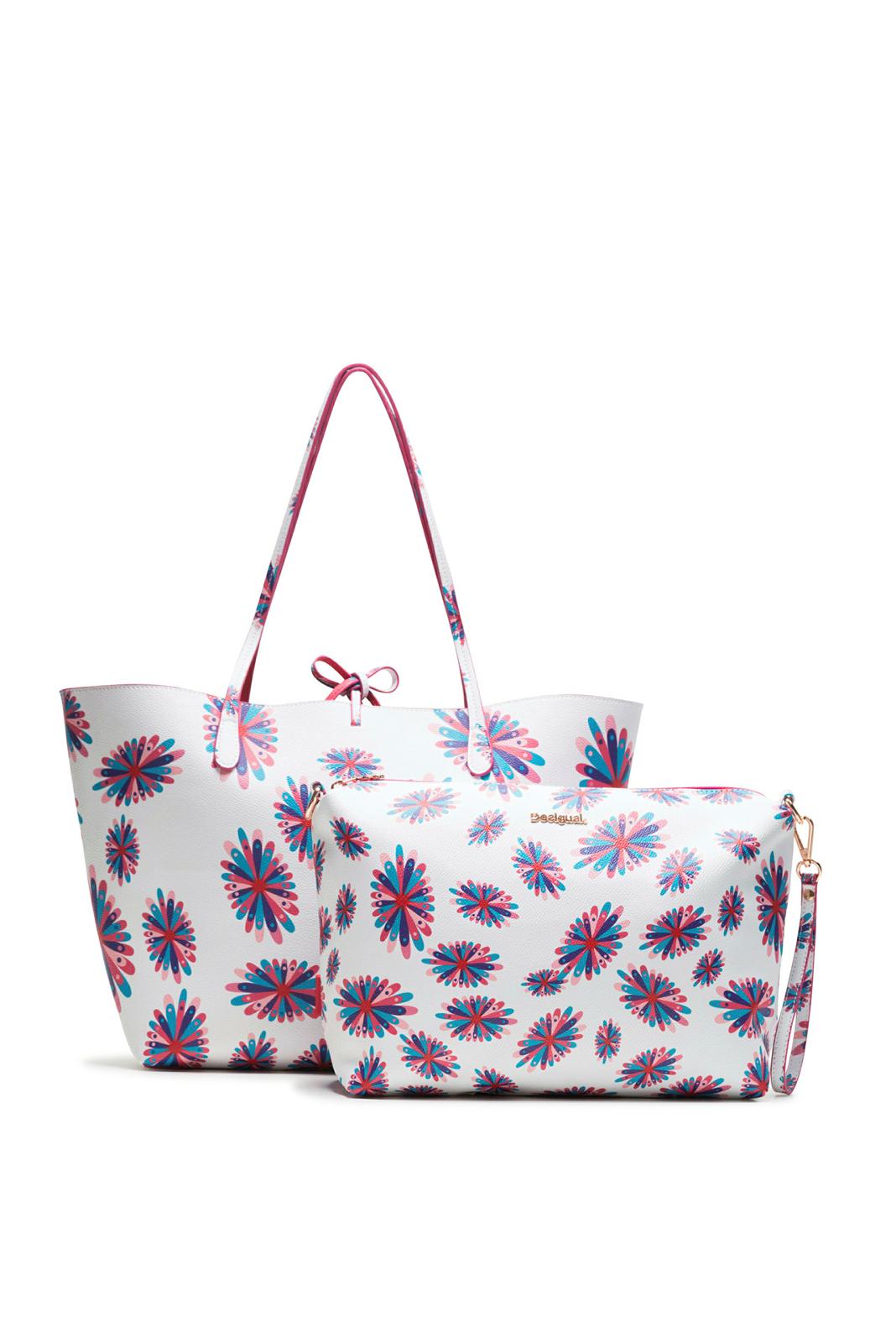 Details about Desigual Women's Frisbee Capri Reversible Shopper & Messenger  Bag RRP ?64