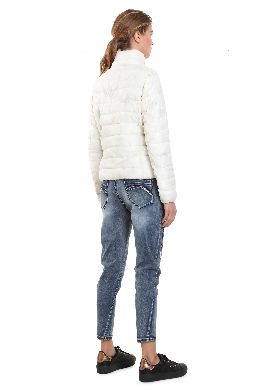Desigual Monica Coat Padded Warm Winter Puffa Mix Jacket 36-46 UK8-18 RRP£214