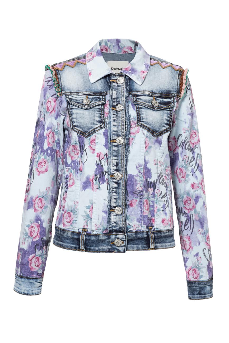 sélection premium 693ee 6cdce Vêtements pour femme Desigual Roses joli imprimé motif ...