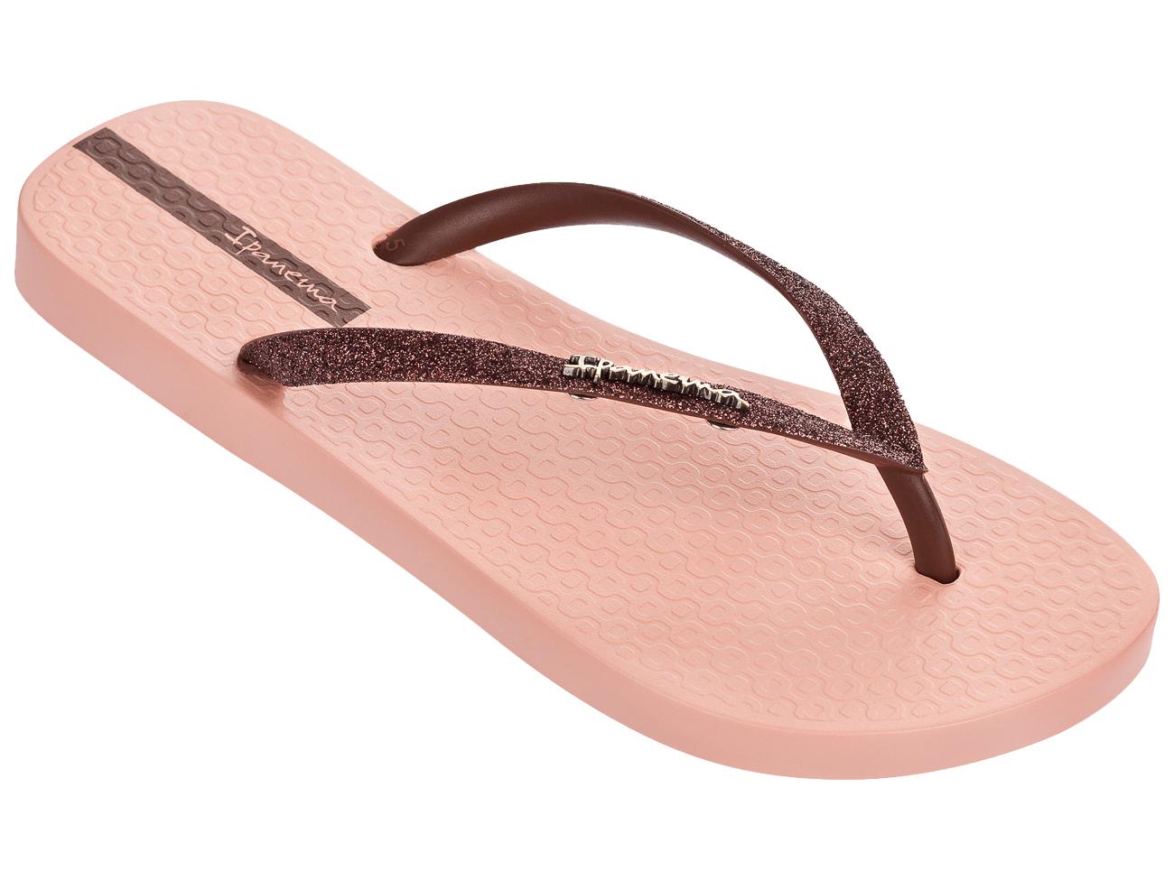 aebb5ce53775f9 NEW Ipanema Sparkle Glitter Flip Flops Sandals Beach Gold Black EU36-41  UK3-8