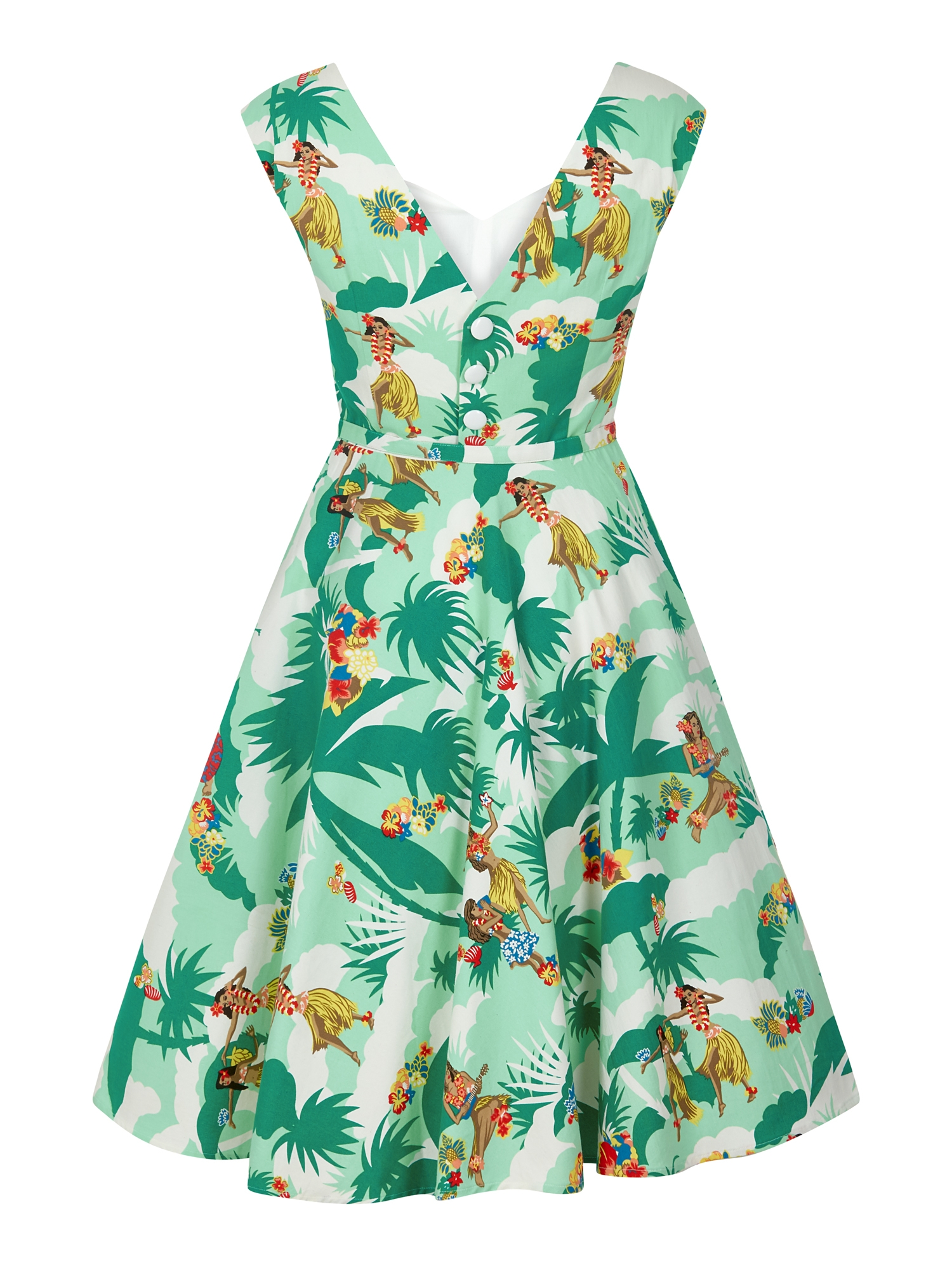 Cheap Hawaiian Print Dresses