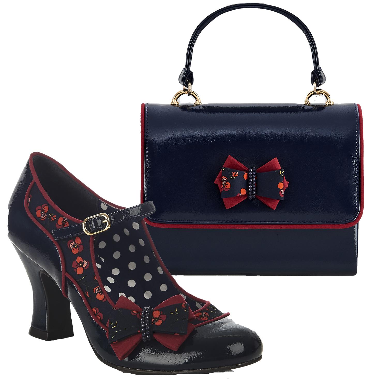5a02072972c01 Ruby Shoo Camilla High Heel Mary Jane Shoes & Matching Casablanca Bag UK 2-  9