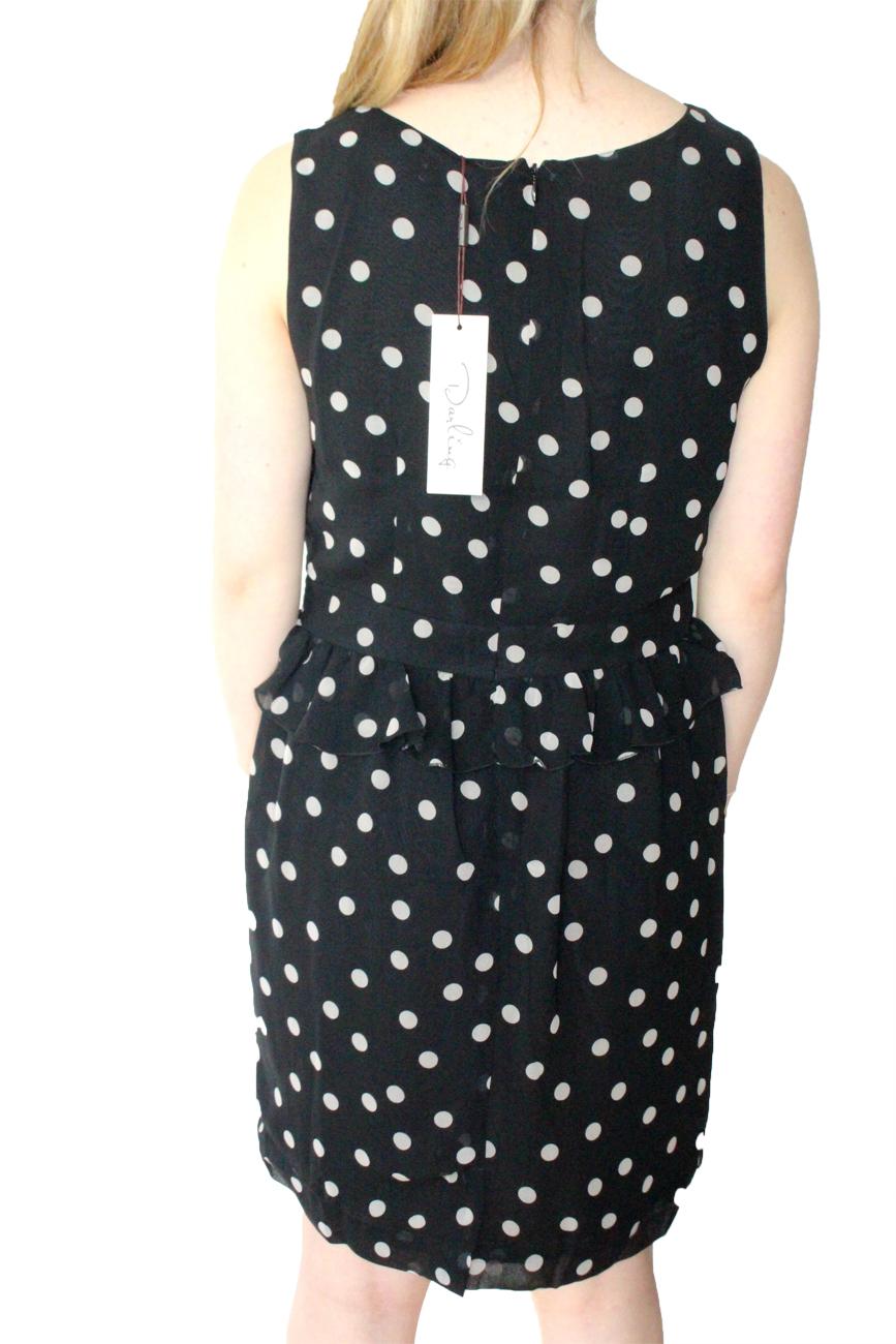 Darling Spotty Eleanor Dress Dress Dress S-XL 10-16 RRP 65 Pretty Frills Polka Dot 58f64a