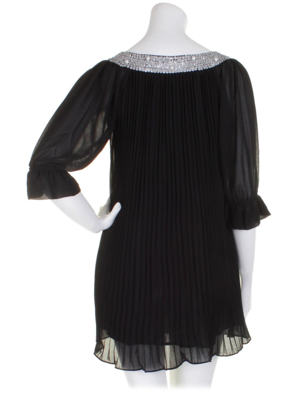 a90cbc8282 Darling Sequin Pearl Neck Grace Dress Top S-XL UK 10-16 RRP  69 ...