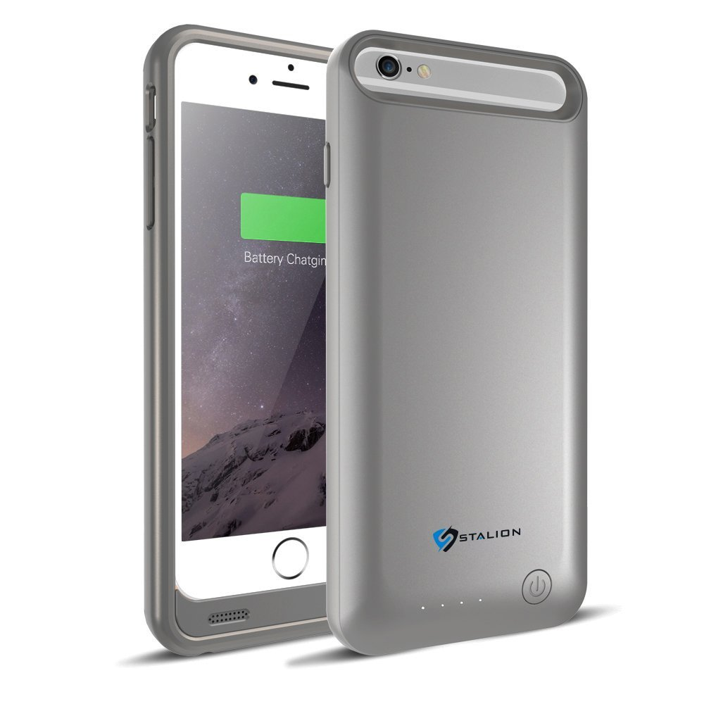 iphone extra battery case stalion 174 stamina 3100mah extended rechargeable battery 15258