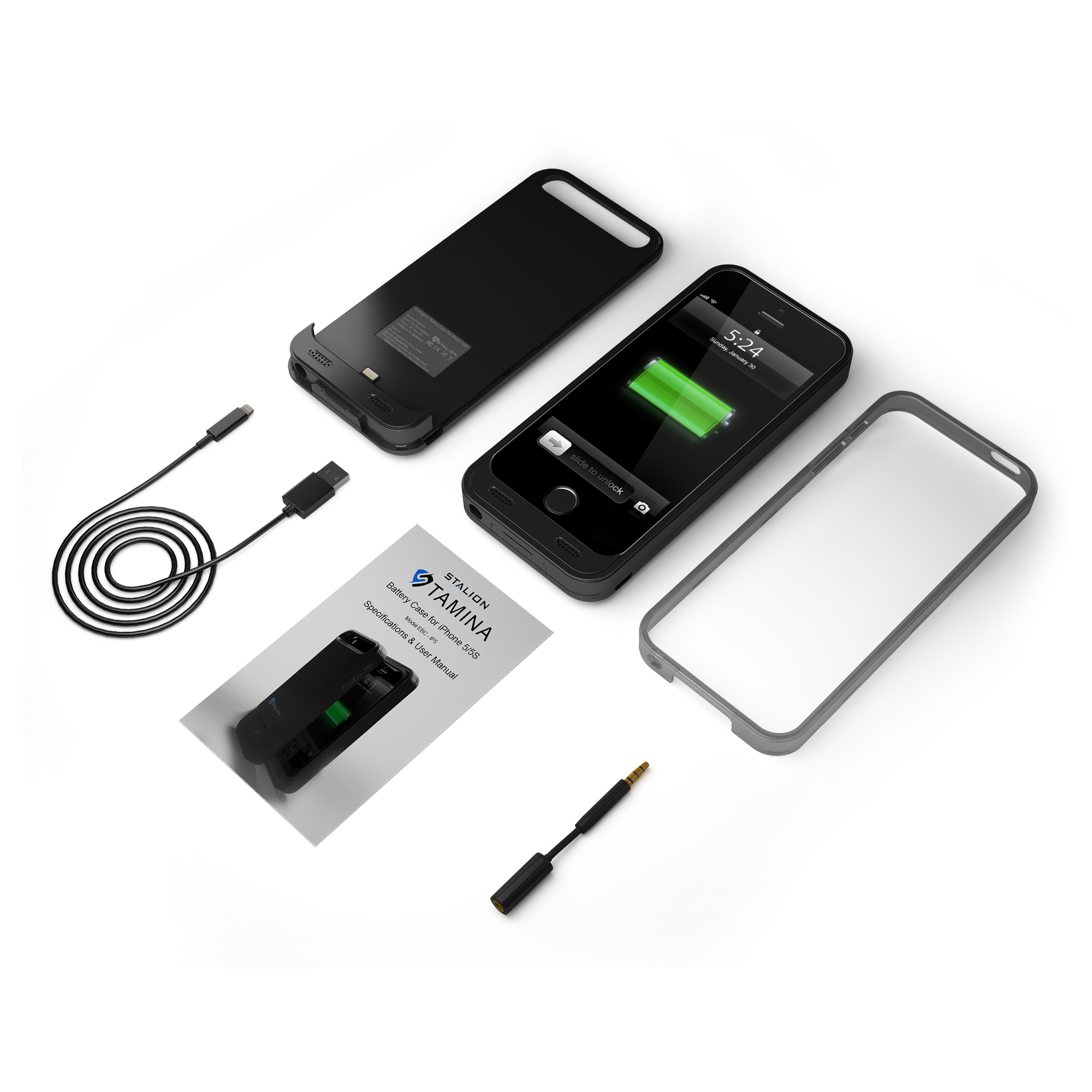 Rechargeable Phone Case Iphone 5