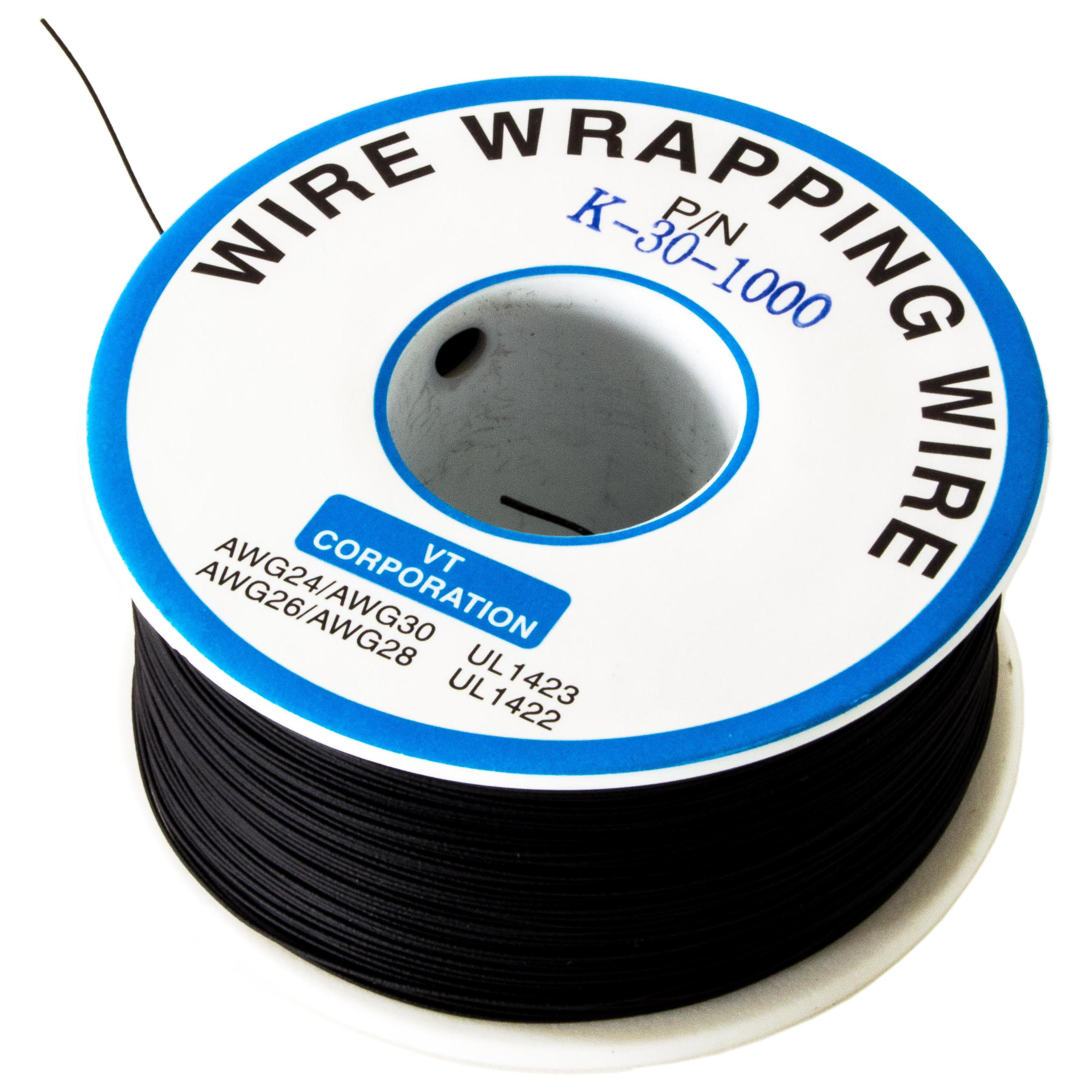 30 gauge Kynar 100 FEET Any Color! 30 AWG KYNAR wire wrap