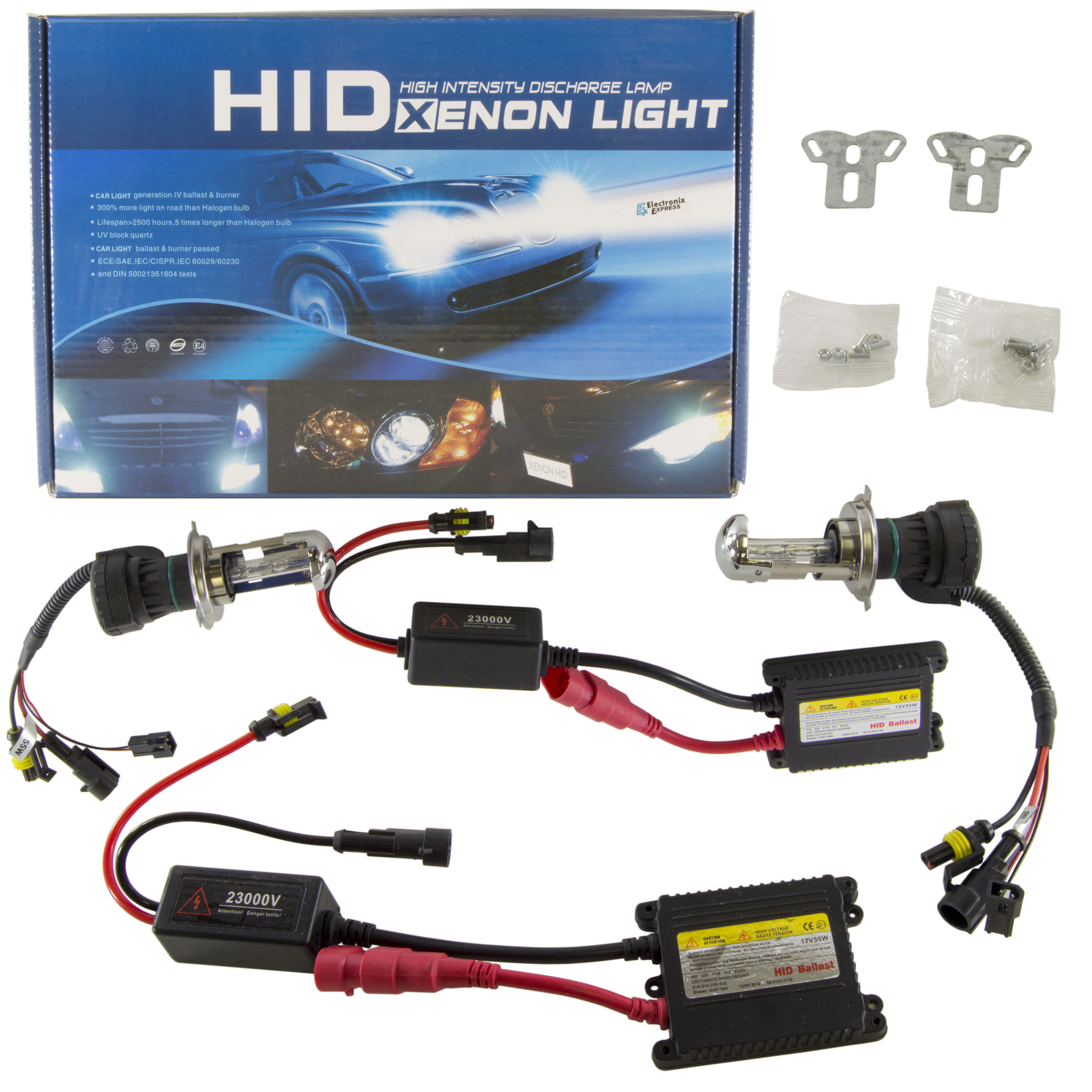 Xenon Hid High Intensity Discharged Conversion Kit Manual Guide