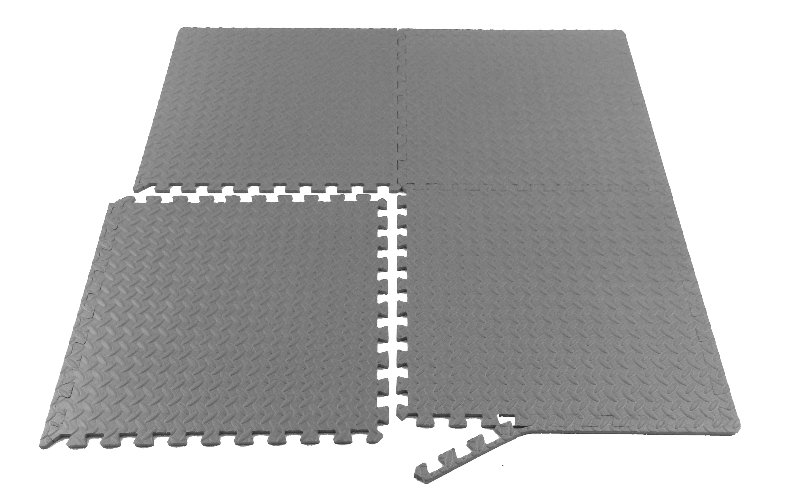 Prosource puzzle exercise mat eva foam interlocking tiles grey picture 10 of 11 dailygadgetfo Image collections