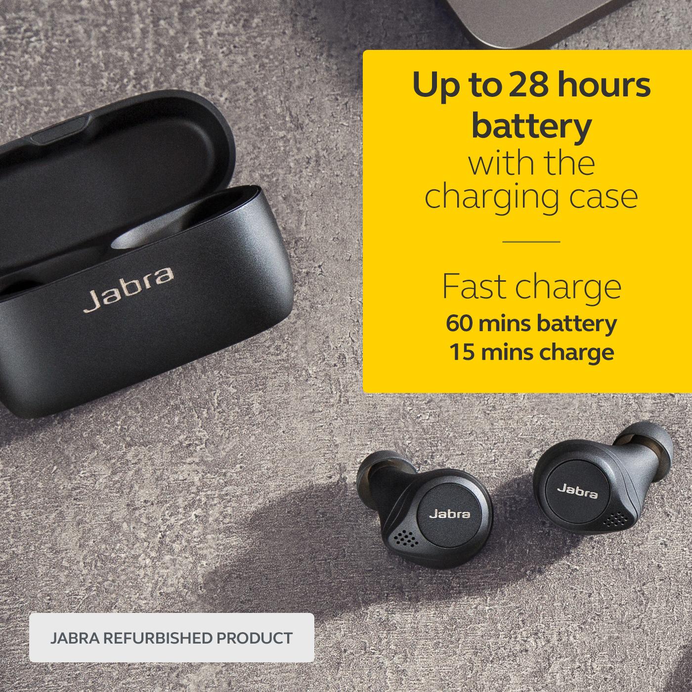 thumbnail 7 - Jabra-Elite-75t-Voice-Assistant-True-Wireless-earbuds-Certified-Refurbished