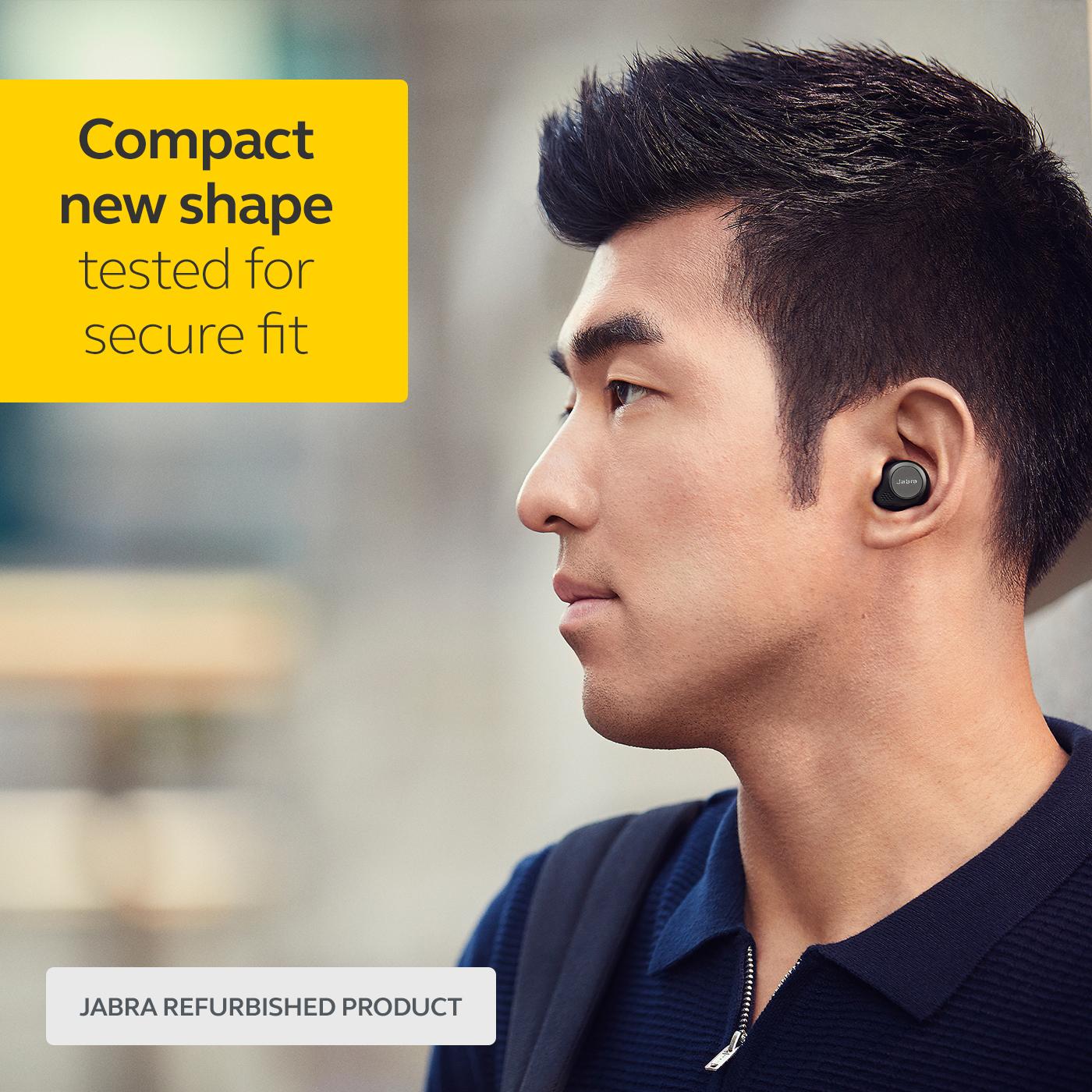 thumbnail 8 - Jabra-Elite-75t-Voice-Assistant-True-Wireless-earbuds-Certified-Refurbished