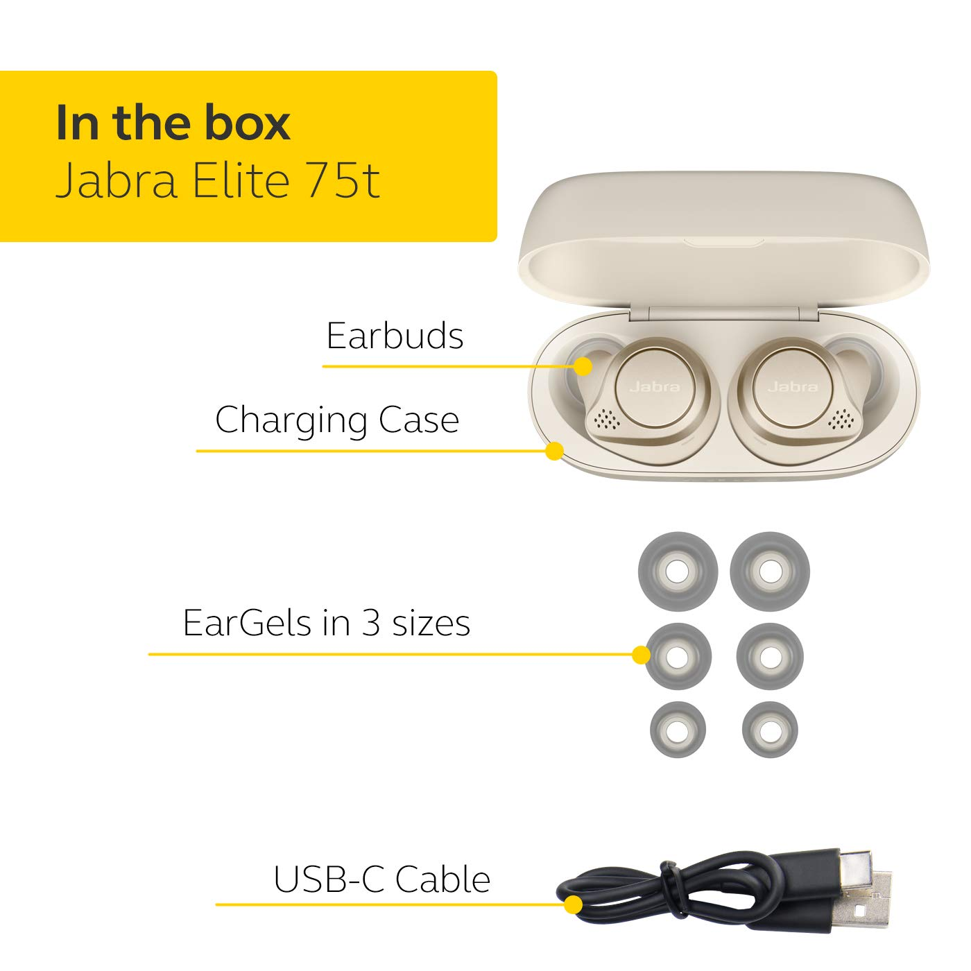 Jabra-Elite-75t-Voice-Assistant-Enabled-True-Wireless-earbuds-with-Charging-Case thumbnail 10