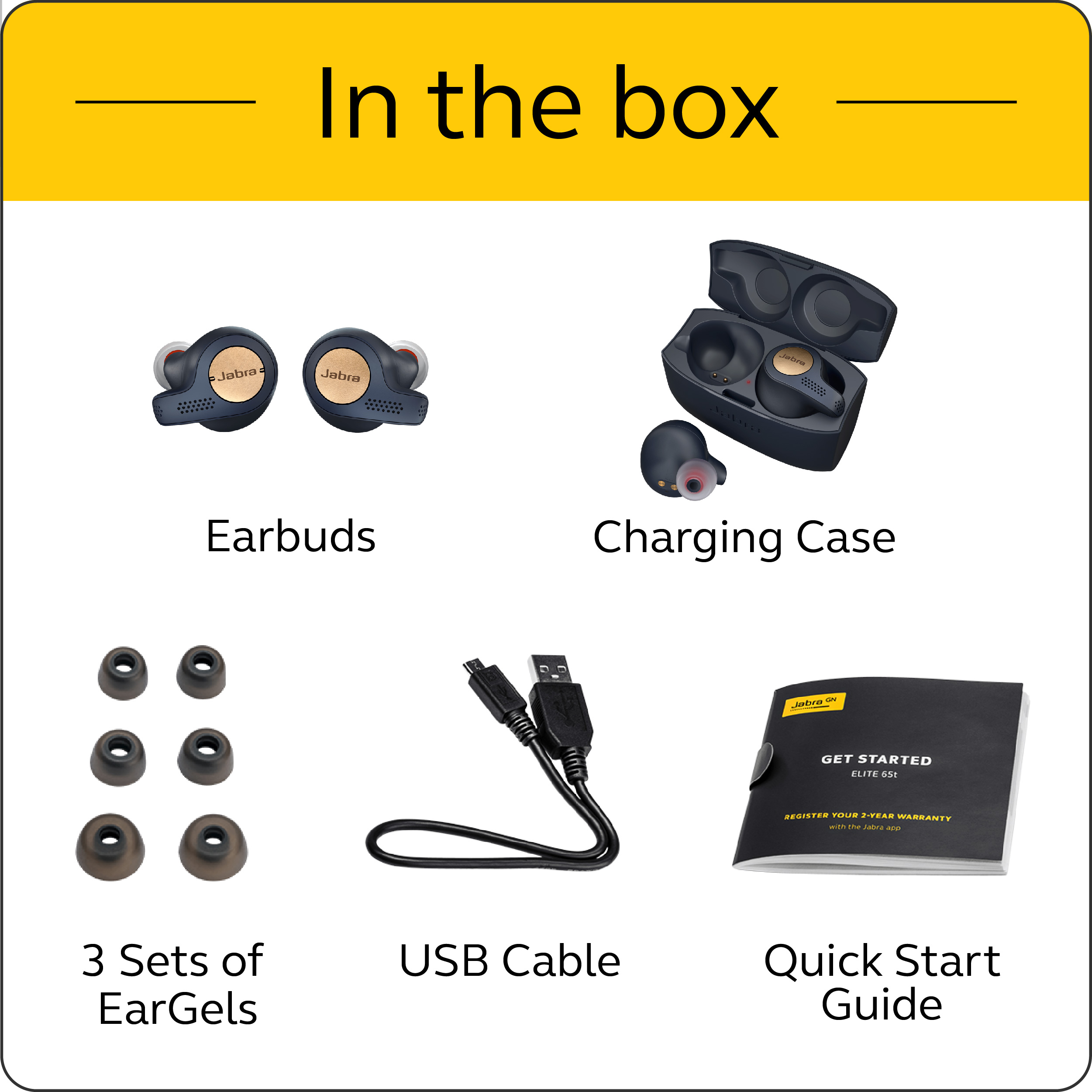 Jabra-Elite-Active-65t-Alexa-True-Wireless-Sport-Earbuds-with-Charging-Case-NEW thumbnail 12