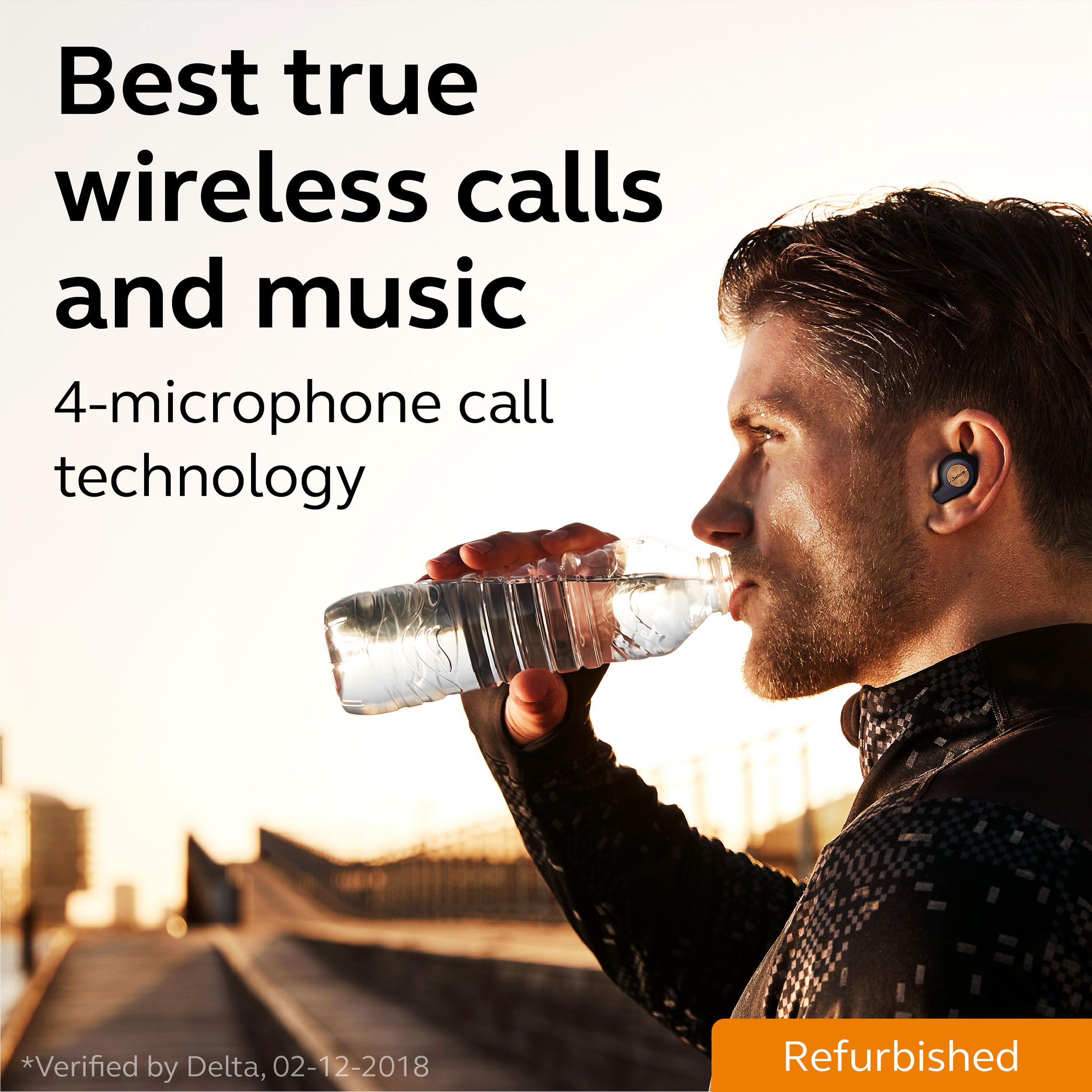 thumbnail 15 - Jabra Elite Active 65t True Wireless Earbuds (Certified Refurbished)