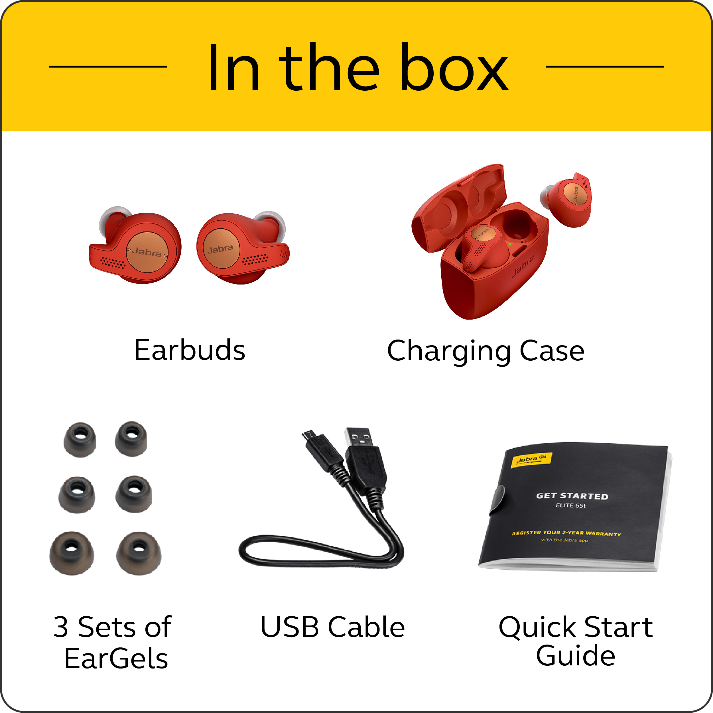 Jabra-Elite-Active-65t-Alexa-True-Wireless-Sport-Earbuds-with-Charging-Case-NEW thumbnail 18