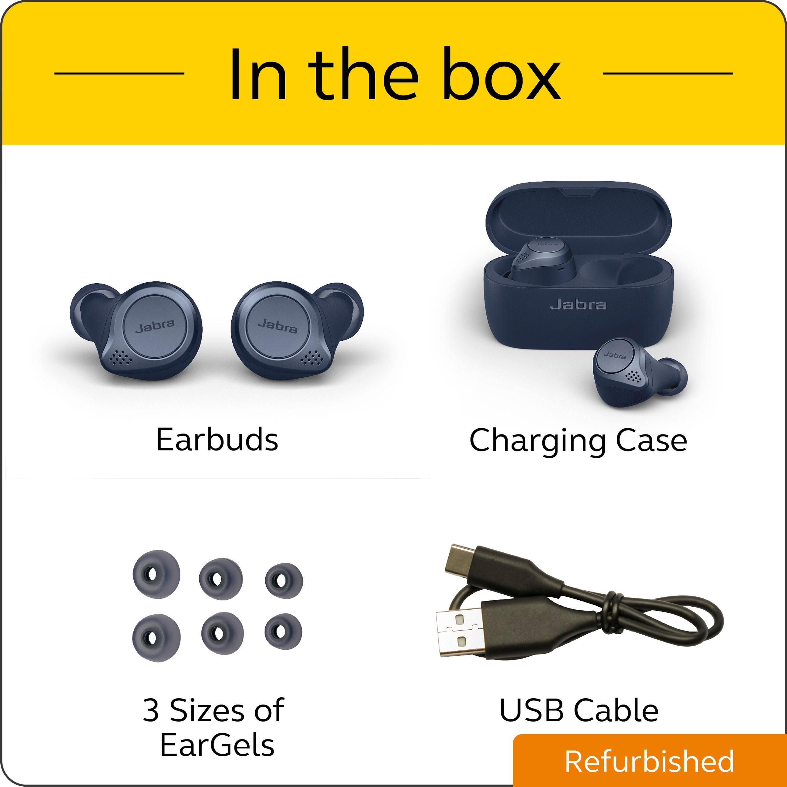 thumbnail 12 - Jabra Elite Active 75t True Wireless Earbuds Certified Refurbished